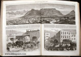 The Illustrated London News. 1867 - (01 - 12). January to December. BOUND IN TWO VOLUMES.