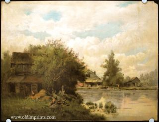 The Mill-Pond. LANDSCAPE