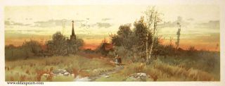 The Sunset. LANDSCAPE - HORIZONTAL