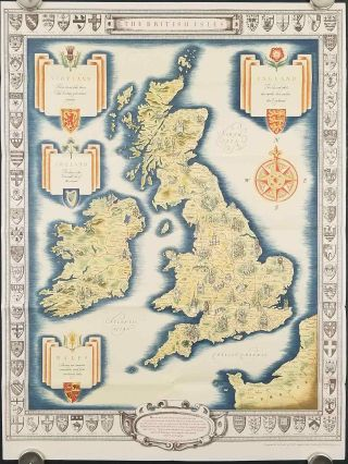 The British Isles. GREAT BRITAIN, IRELAND