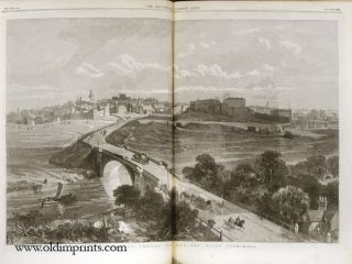 The Illustrated London News. 1869 - (07 - 12). July 3 to December 25. UNION PACIFIC RAILWAY /...