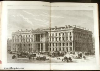 The Illustrated London News. 1870 - (01 - 06). January to June. IRELAND