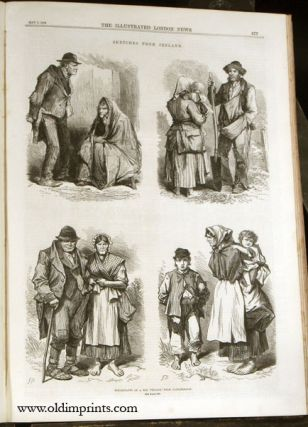 The Illustrated London News. 1870 - (01 - 06). January to June.