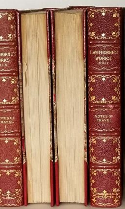The Complete Writings of Nathaniel Hawthorne with Portraits, Illustrations, and Facsimiles IN TWENTY-TWO VOLUMES. Old Manse Edition.