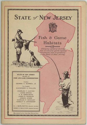 Fish & Game Habitats Showing general distribution of fish and game - native, introduced, and migratory - in the State of New Jersey.