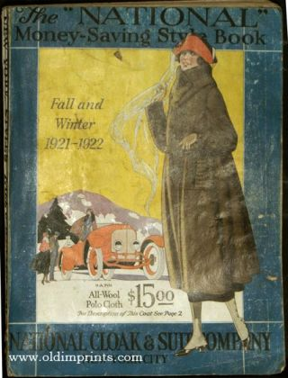 The National Money-Saving Style Book. Fall and Winter 1921 -1922. FASHION