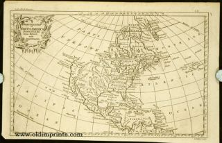 An Accurate Map of North America. NORTH AMERICAN CONTINENT