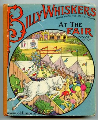 Billy Whiskers at the Fair. F. G. Wheeler