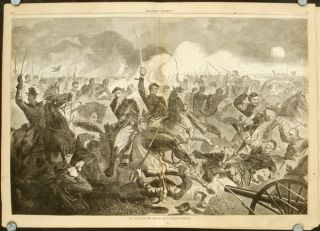 The War for the Union, 1862 - A Cavalry Charge. -05.