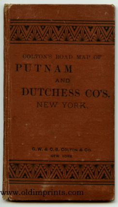 Colton's Road Map of Putnam and Dutchess Co's. New York. Map title: Colton's Road Map of the Counties of Putnam & Dutchess New York.