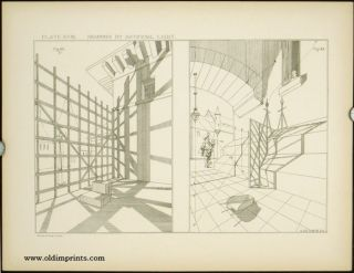 Modern Perspective. Plates. ARCHITECTURE - PERSPECTIVE DRAWING, William Ware