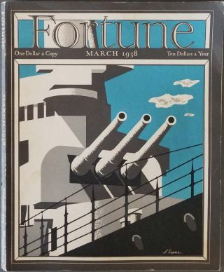 Fortune Magazine. March 1938. NAVY / RICHARD EDES HARRISON / WEST VIRGINIA