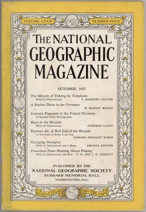 The National Geographic Magazine. 1937 - 10. CHINA - SHANGHAI / PEIPING, Amanda Boyden, P H., J...
