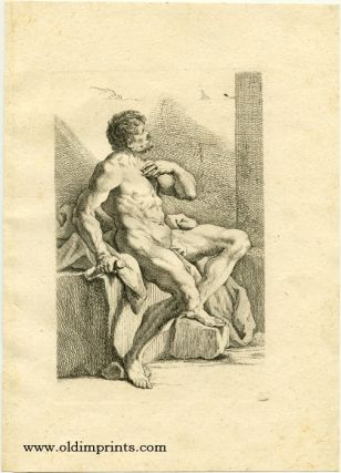 Untitled male nude study. RIDINGER