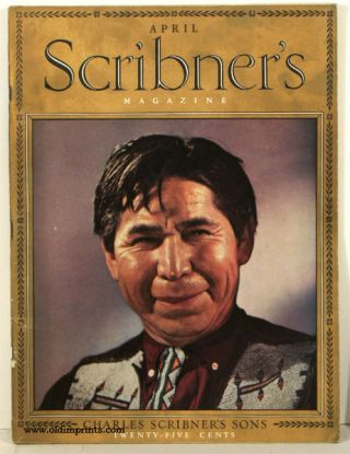 Scribner's Magazine. 1937 - 04. NAVAJO / NEW YORK.