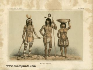 Mojave Indians. 35th PARALLEL - MOJAVES