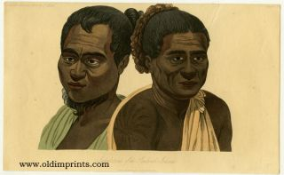 Natives of the Sandwich Islands. HAWAII