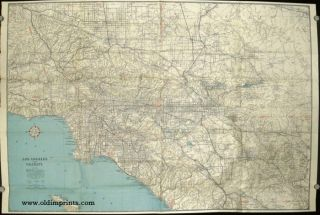 Los Angeles and Vicinity. CALIFORNIA - LOS ANGELES