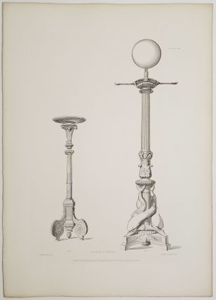 Illustrations of Furniture, Candelabra, Musical Instruments from the Great Exhibitions of London & Paris with Examples of Similar Articles from Royal Palaces and Noble Mansions.