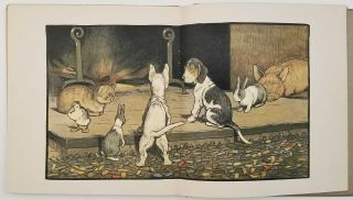 Cecil Aldin's Happy Family. SET OF SIX VOLUMES: I. Hungry Peter His Adventures. II. Rufus... III. Rags His.... IV. Humpty and Dumpty.... V. Master Quack.... VI. Forager... PLUS ANOTHER COPY OF Volume VI.