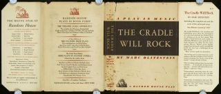 A Play in Music. The Cradle Will Rock.
