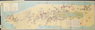 Pictorial Map of New York City. NEW YORK - NEW YORK CITY - CHASE BANK