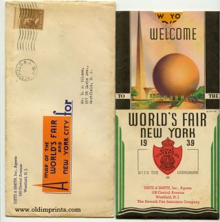 Welcome to the World's Fair New York 1939. Map title: New York World's Fair by Automobile.