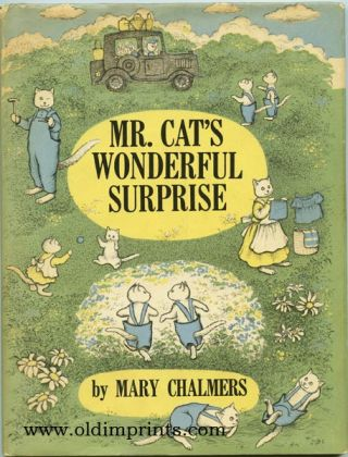 Mr. Cat's Wonderful Surprise. CATS, Mary Chalmers.