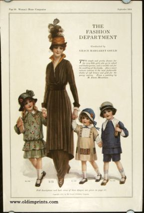 The Fashion Department. 1910s FASHION - CHILDREN - HATS.