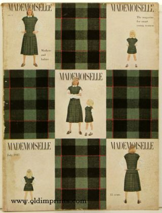 Mademoiselle. 1947 - 07. FASHION, Colette