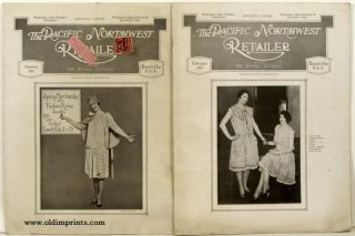 The Pacific Northwest Retailer. Formerly Apparel Criterion. TWO ISSUES FROM 1927. PACIFIC...