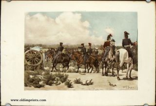 Field Artillery. Major Ringold Directing the Operations of His Battery, Palo Alto, May 8, 1846....