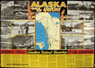 Canadian National. Alaska and Pacific Coast Cruises.