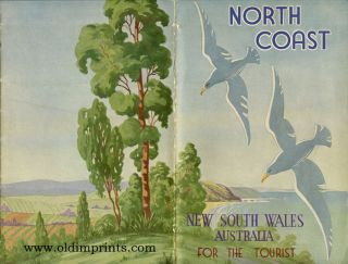North Coast. New South Wales Australia. For the Tourist. Map title: North Coast.
