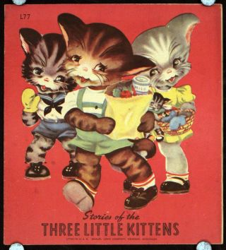 Stories of the Three Little Kittens. MARGOT VOIGT