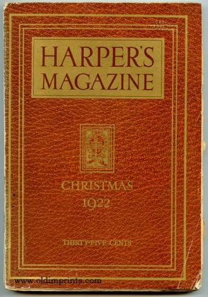 Harper's Magazine. 1922 - 12. CHRISTMAS ISSUE