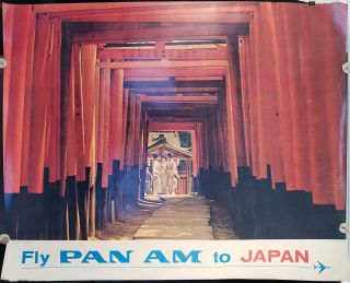 Fly Pan Am to Japan. PAN AM / JAPAN