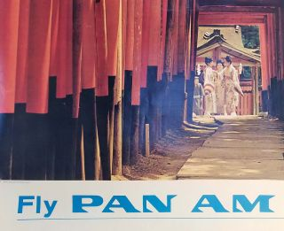 Fly Pan Am to Japan.