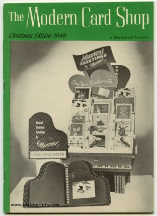 The Modern Card Shop. Christmas Edition, 1949 and January, 1950. GREETING CARDS / STATIONERY