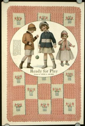 Ready for Play. 1910s FASHION - CHILDREN.
