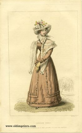 Carriage Dress. 1820s FASHION