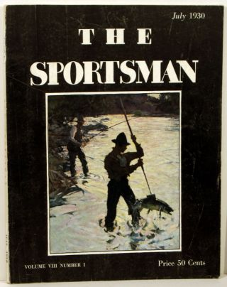 The Sportsman. 1930 - 07 (July). GOLF / HORSE RACING / FISHING FRONT COVER, Richard Ely Danielson