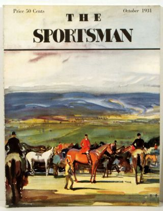 The Sportsman. 1931 - 10 (October). FENCING / POLO, Richard Ely Danielson