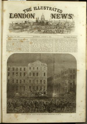 The Illustrated London News. 1863 - (07 - 12). July to December. ONE VOLUME.