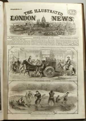 The Illustrated London News. 1861 - (01 - 12). January to December. BOUND IN TWO VOLUMES....