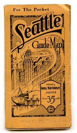 For the Pocket. Seattle Guide Map.