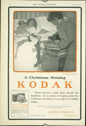 A Christmas Morning / Kodak / Where there's a child, there should the Kodak be. As a means of...