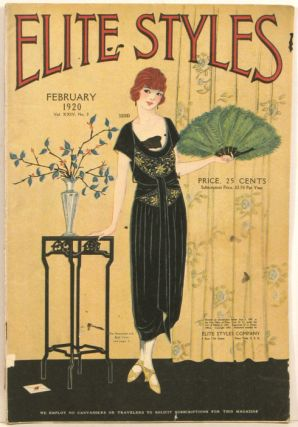 Elite Styles. 1920 - 02 (February). 1920s FASHION