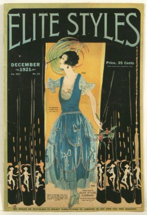 Elite Styles. 1921 - 12 (December). 1920s FASHION