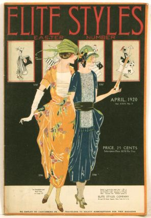 Elite Styles. 1920 - 04 (April). Easter Number. 1920s FASHION